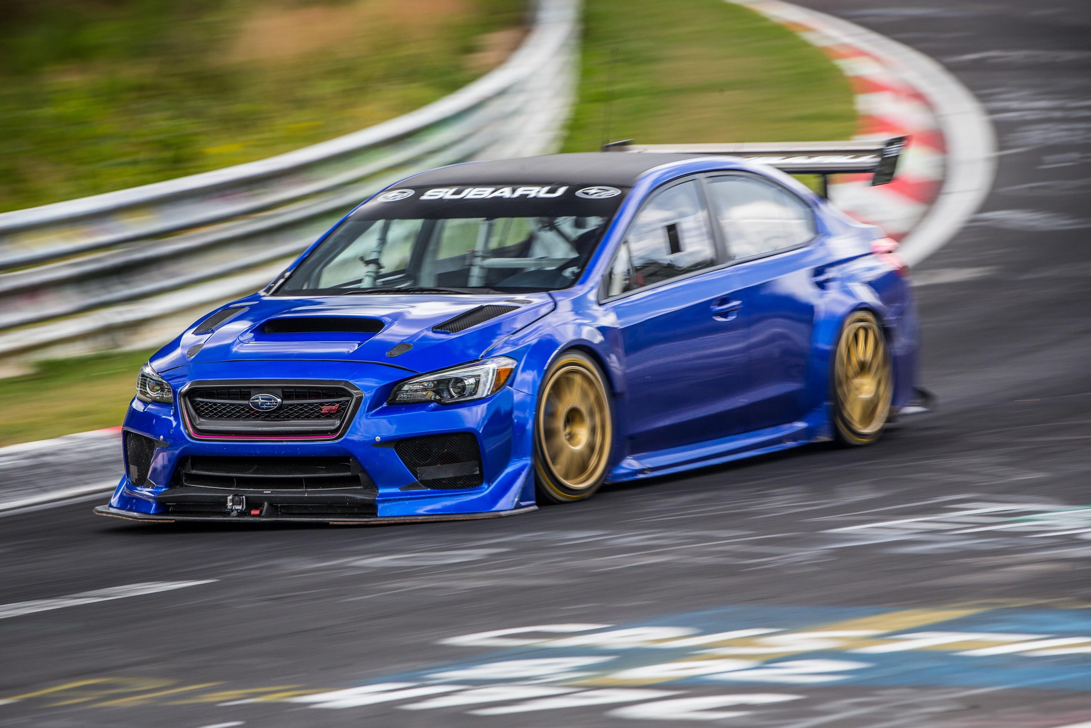 Record en Nürburgring del Subaru WRX STI Type RA NBR Special 1