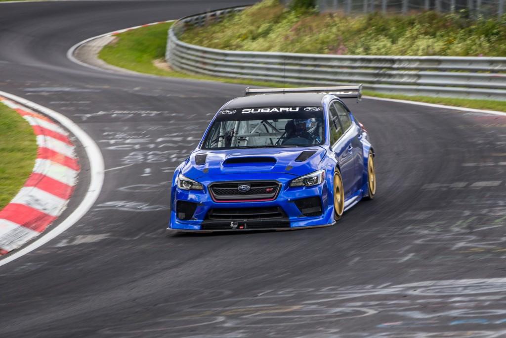 Record en Nürburgring del Subaru WRX STI Type RA NBR Special 2